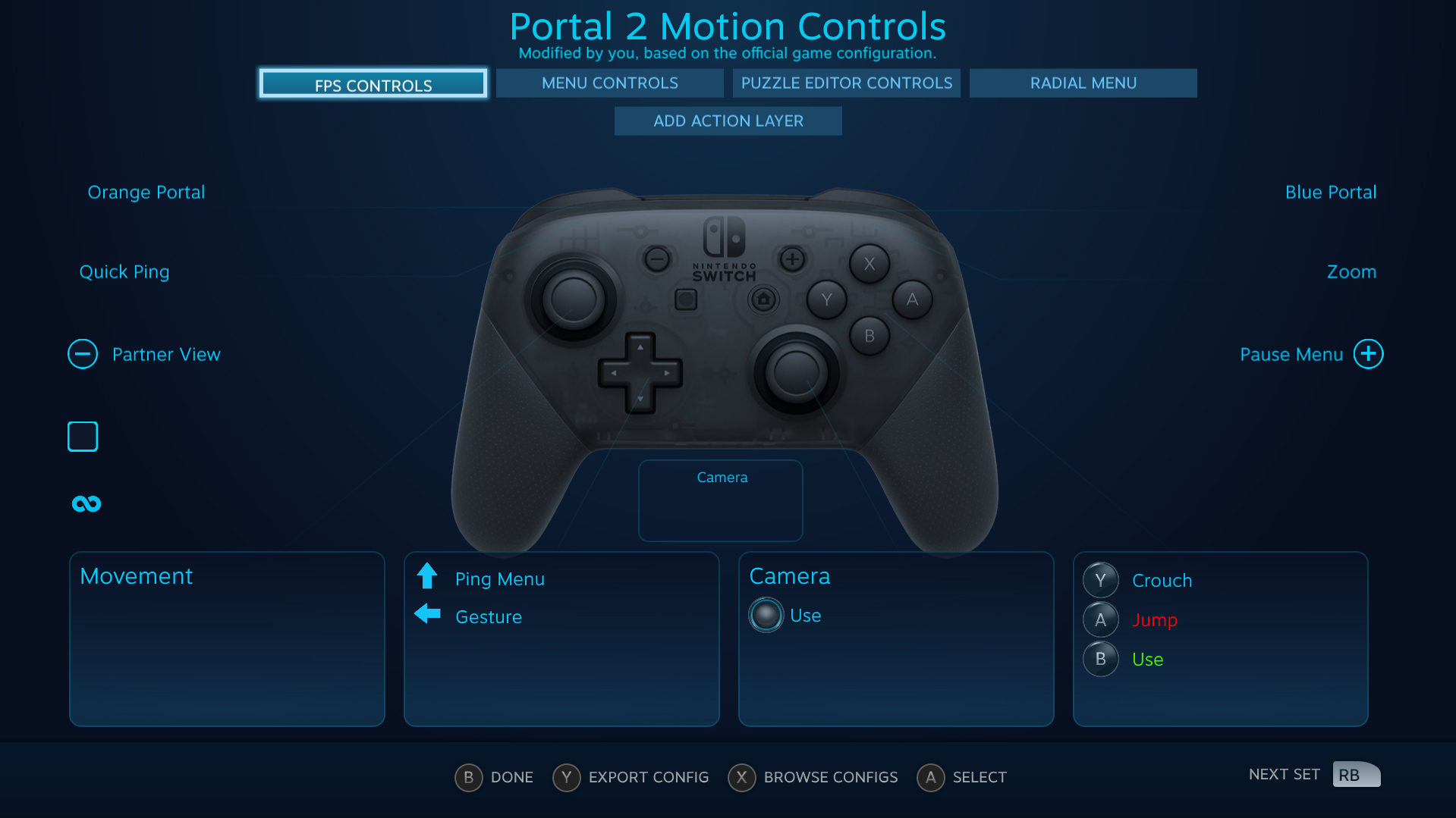Valve adds Switch Pro Controller support to Steam screenshot