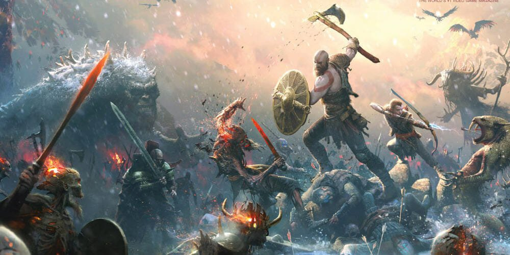 God of War becomes PS4's fastest selling exclusive screenshot