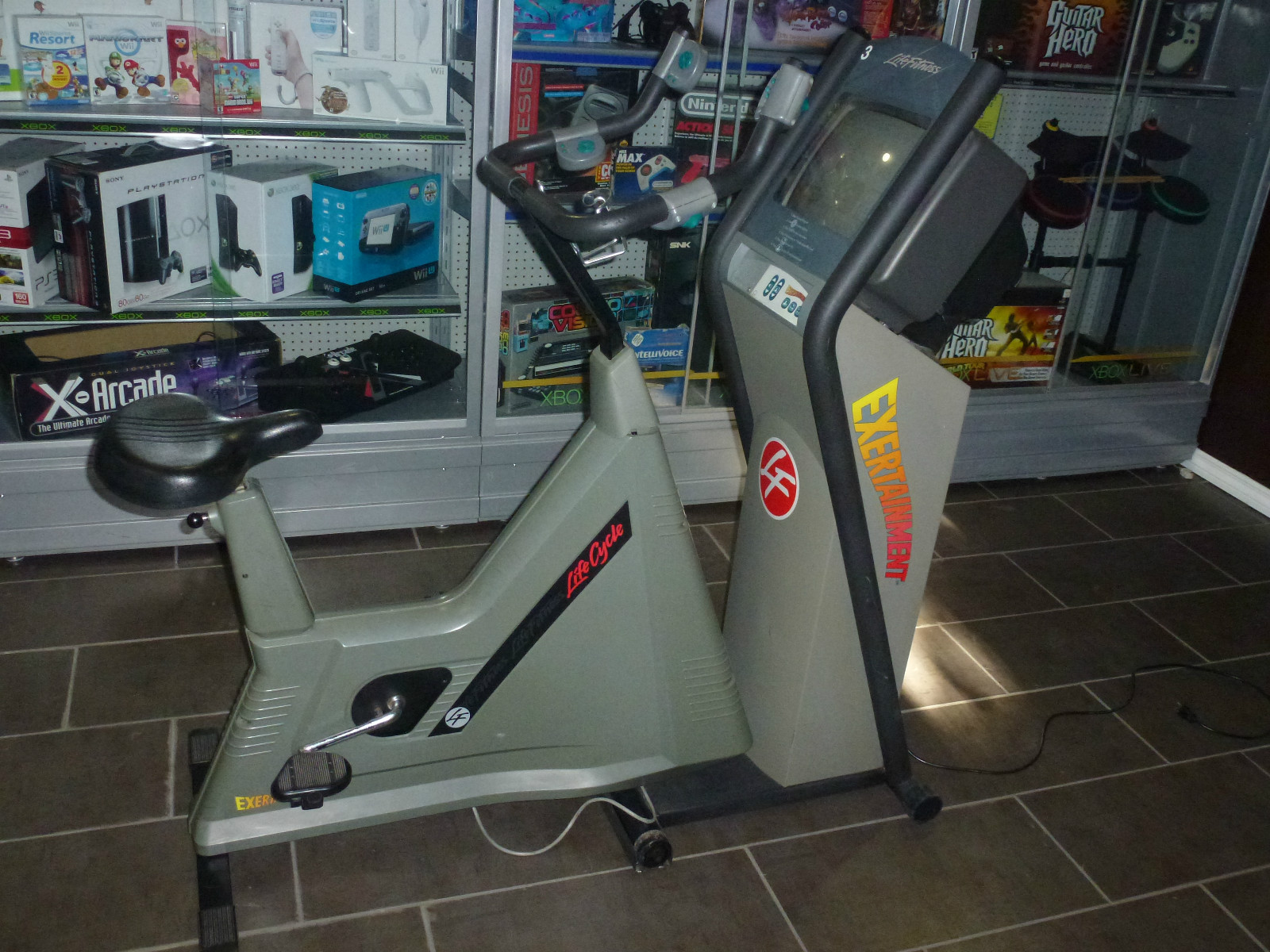 The fitness nut in me wishes I had this SNES exercise bike screenshot