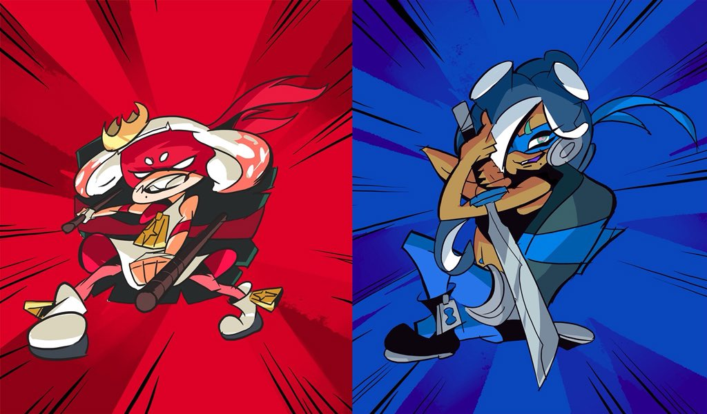 The first round of Splatoon's TMNT splatfest starts this weekend screenshot
