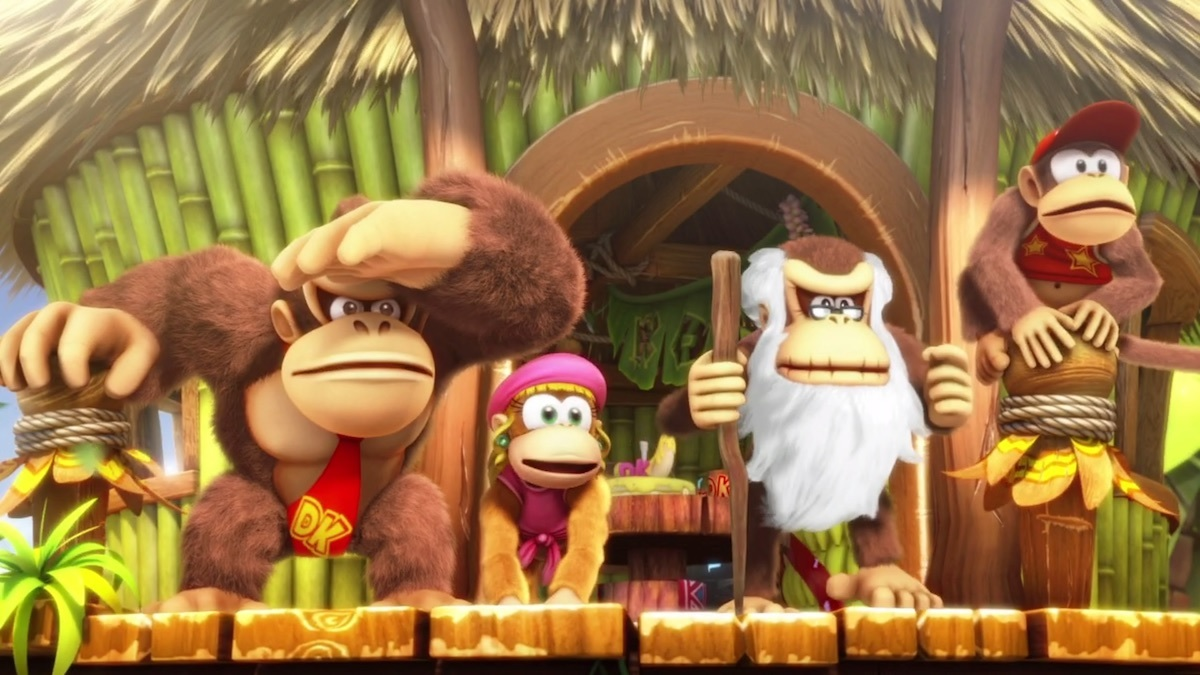My Nintendo has a DKC: Tropical Freeze quest worth 100 platinum coins screenshot