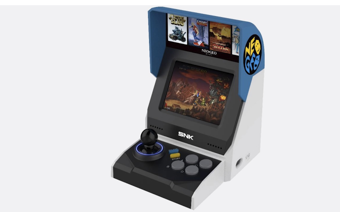 Rumor: SNK might be working on a new mini arcade console screenshot