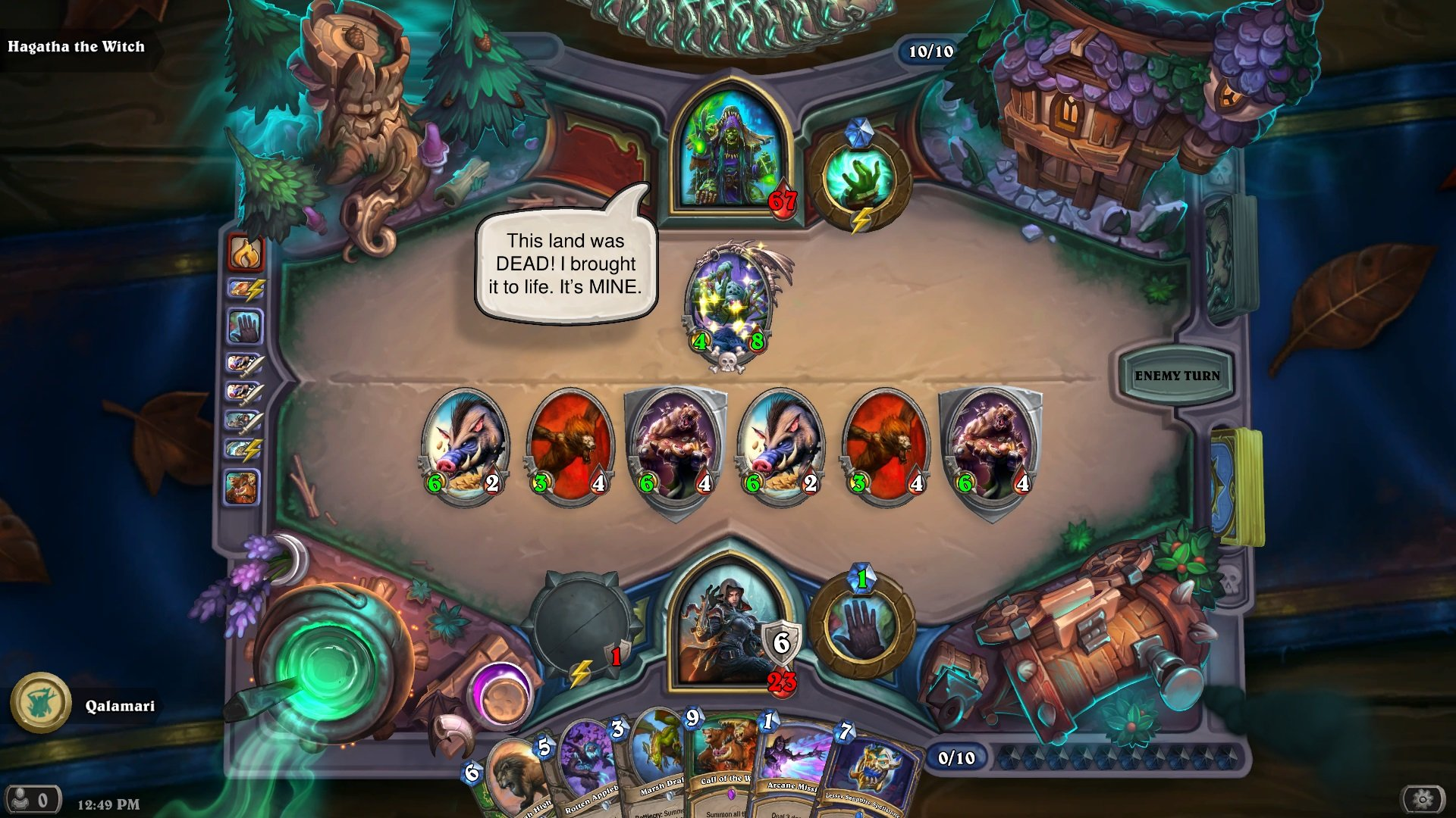 Hearthstone: The Witchwood review