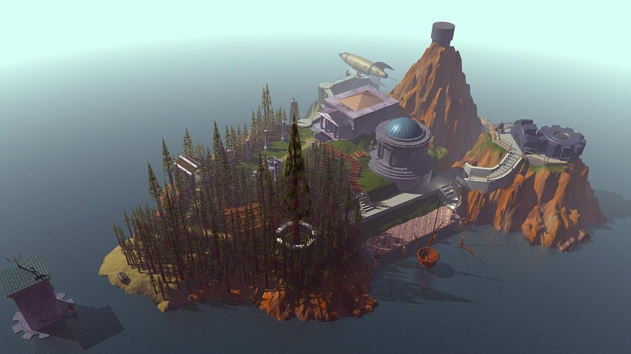 The 25th anniversary Myst series re-release will also include Mac screenshot