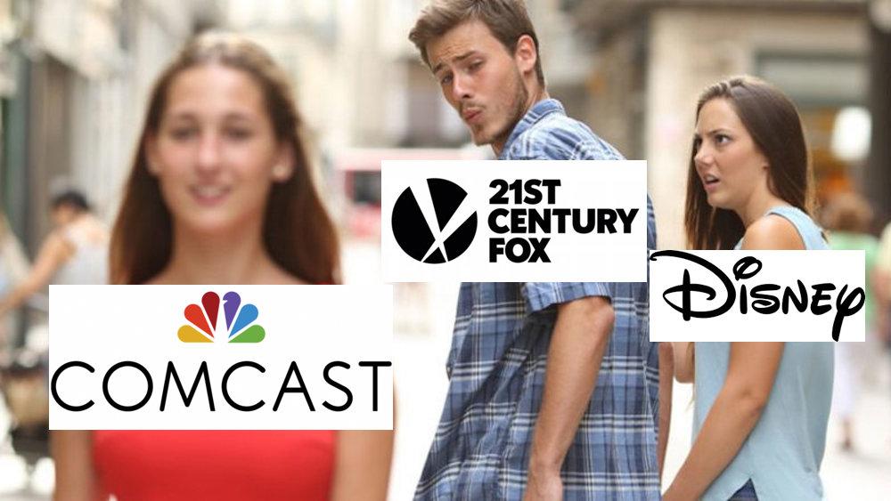 Comcast might snag 21st Century Fox from Disney screenshot