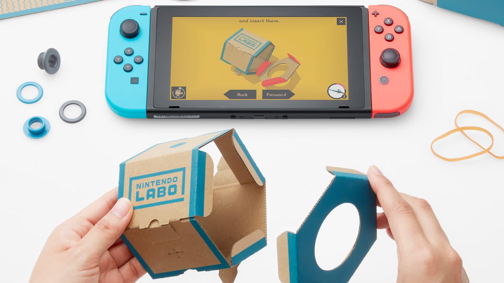 Review: Nintendo Labo - Variety Kit screenshot