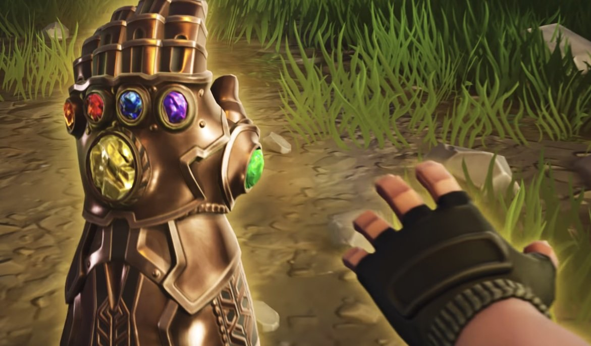 (Update) You can play as Marvel's Thanos in Fortnite right now screenshot