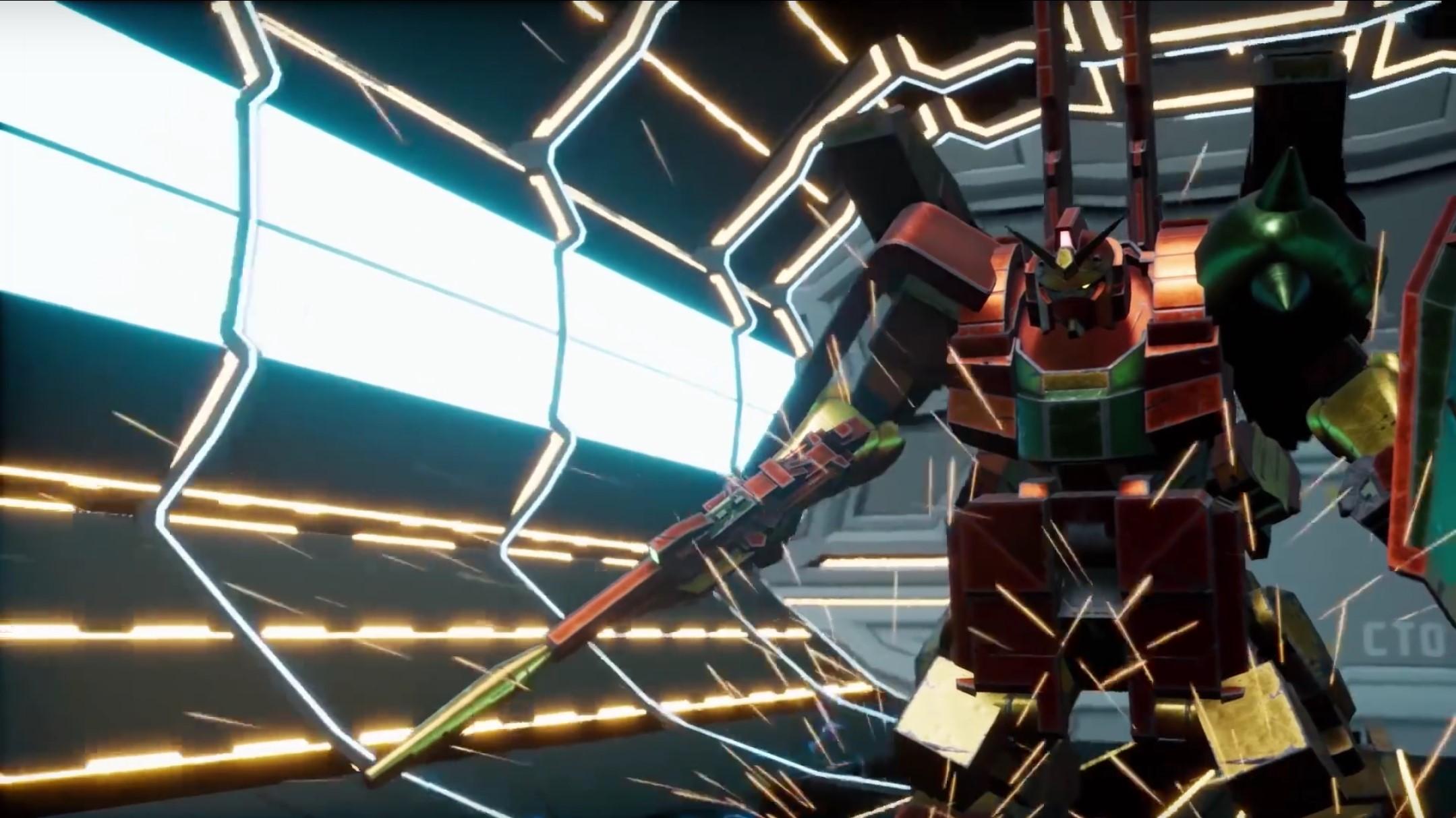 New Gundam Breaker receiving a Gunpla bundle in North America screenshot
