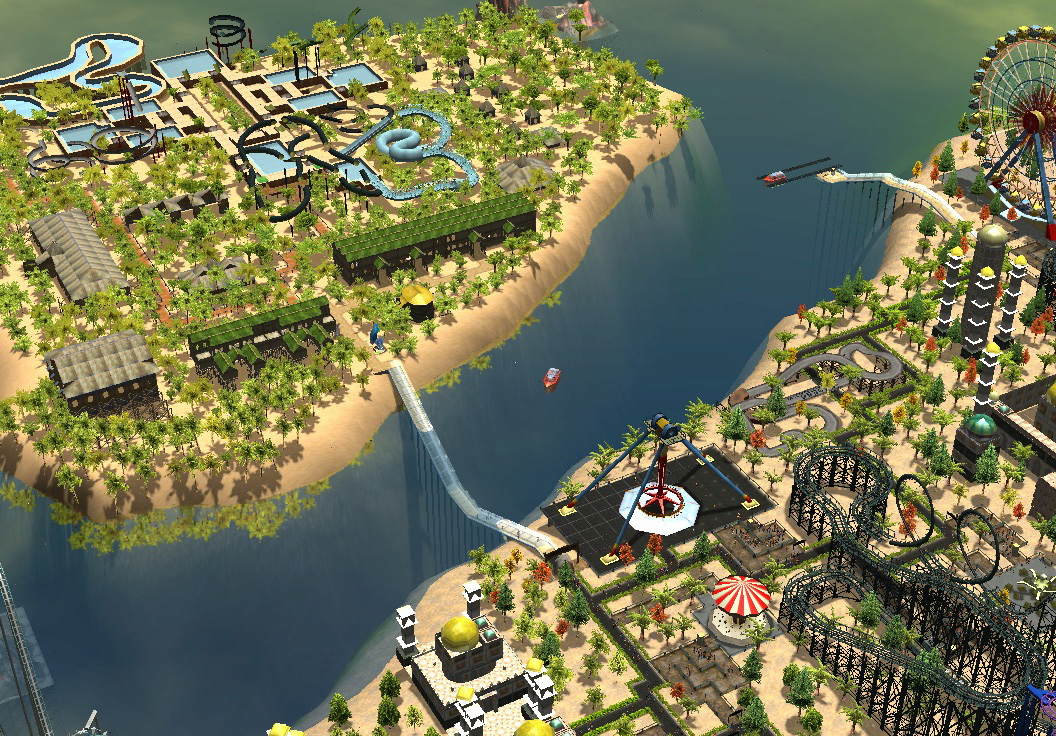 RollerCoaster Tycoon 3 slides off Steam and GOG screenshot