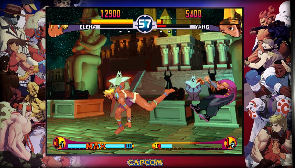 Street Fighter 30th Anniversary Collection details its Training and Vs modes screenshot