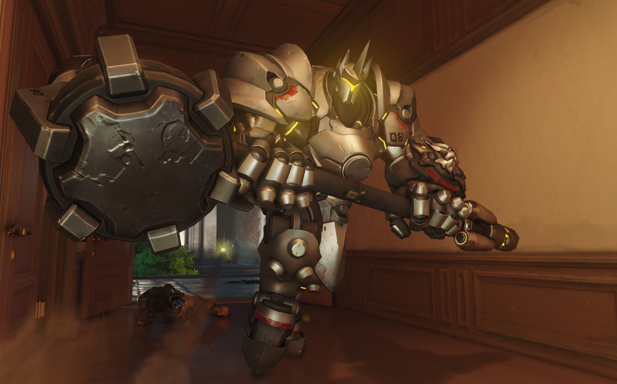 Pro Overwatch player pops two Reinhardt ultimates in six seconds screenshot