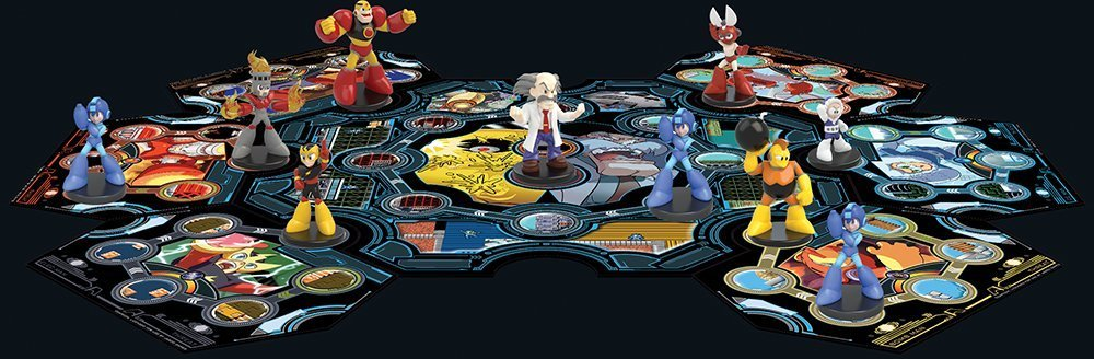 There's going to be a second Mega Man board game screenshot