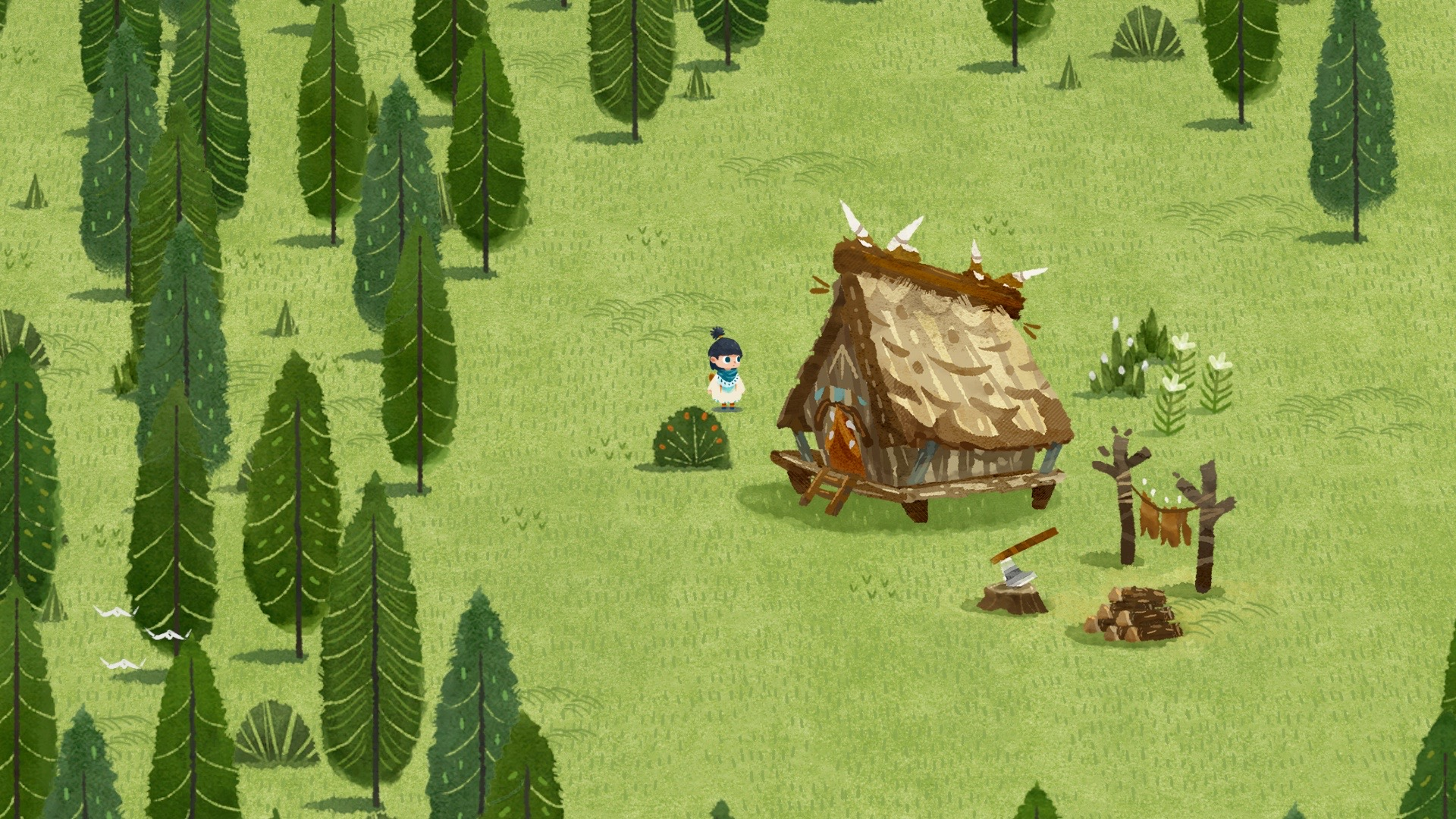 Literally move the earth around in 2D adventure cutestuffs, Carto screenshot