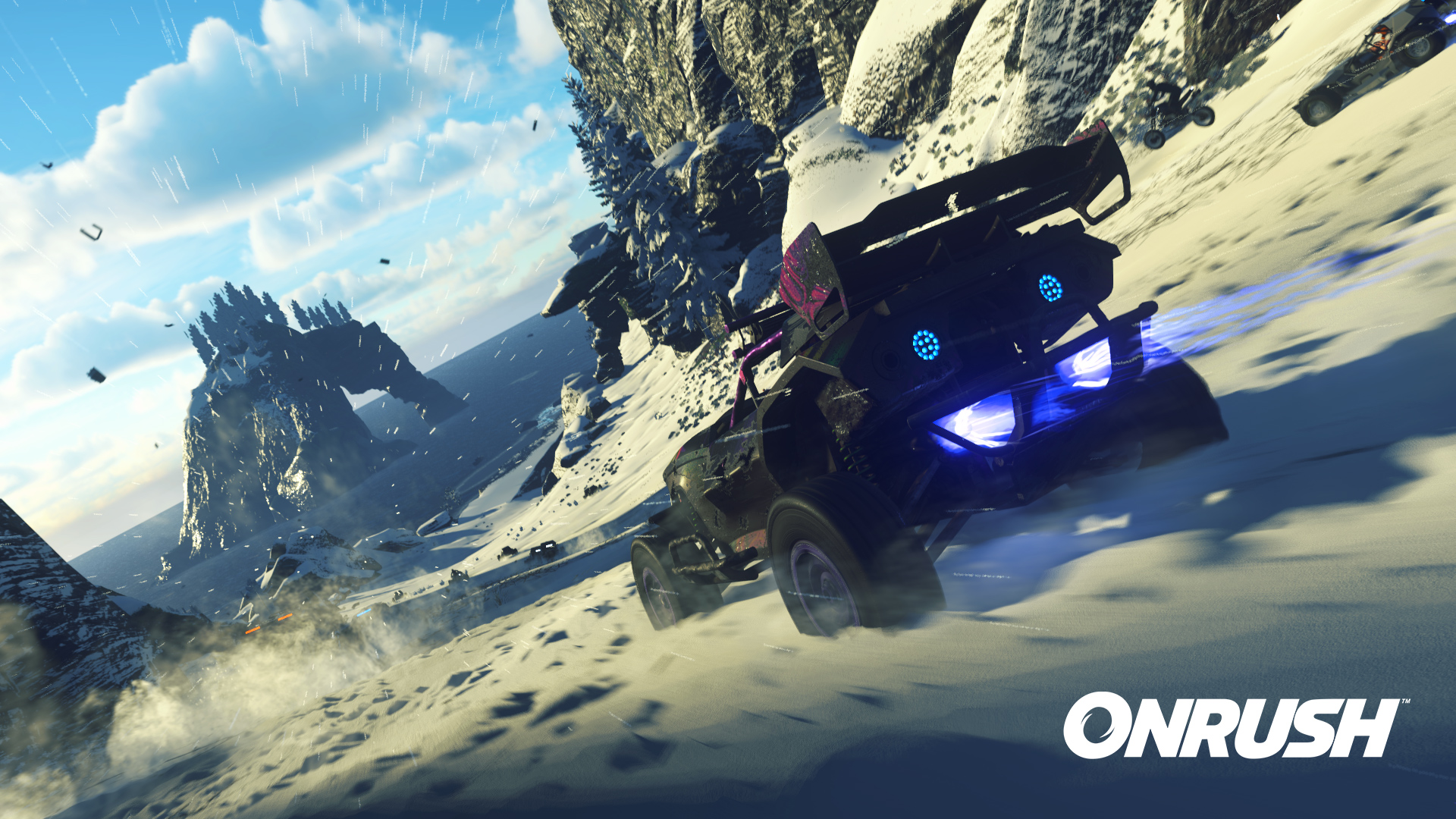 Let's go on an arcade racing rampage in the Onrush beta screenshot