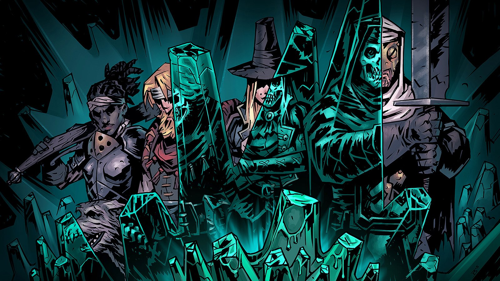 The Color of Madness touches down in Darkest Dungeon on June 19 screenshot