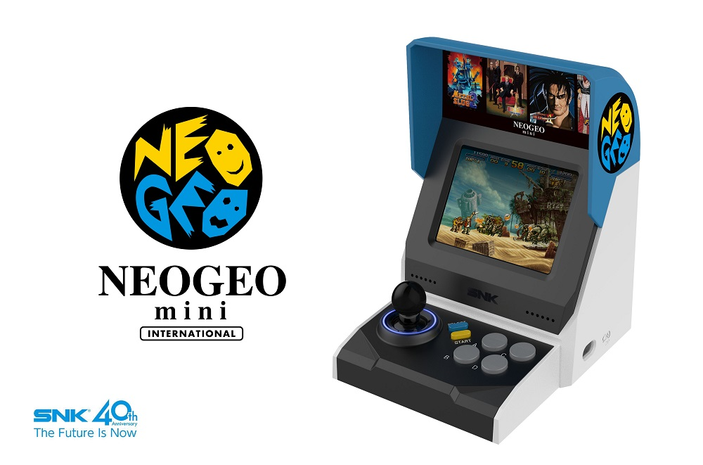 SNK Neo Geo Mini officially revealed, will contain 40 games screenshot