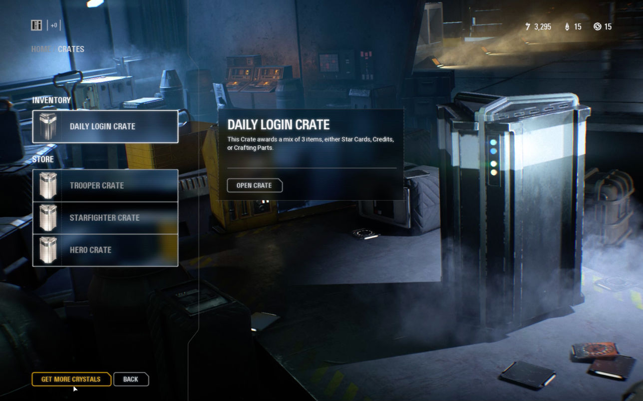 After all that, EA says it will continue to use loot boxes, but in a 'fun' way screenshot