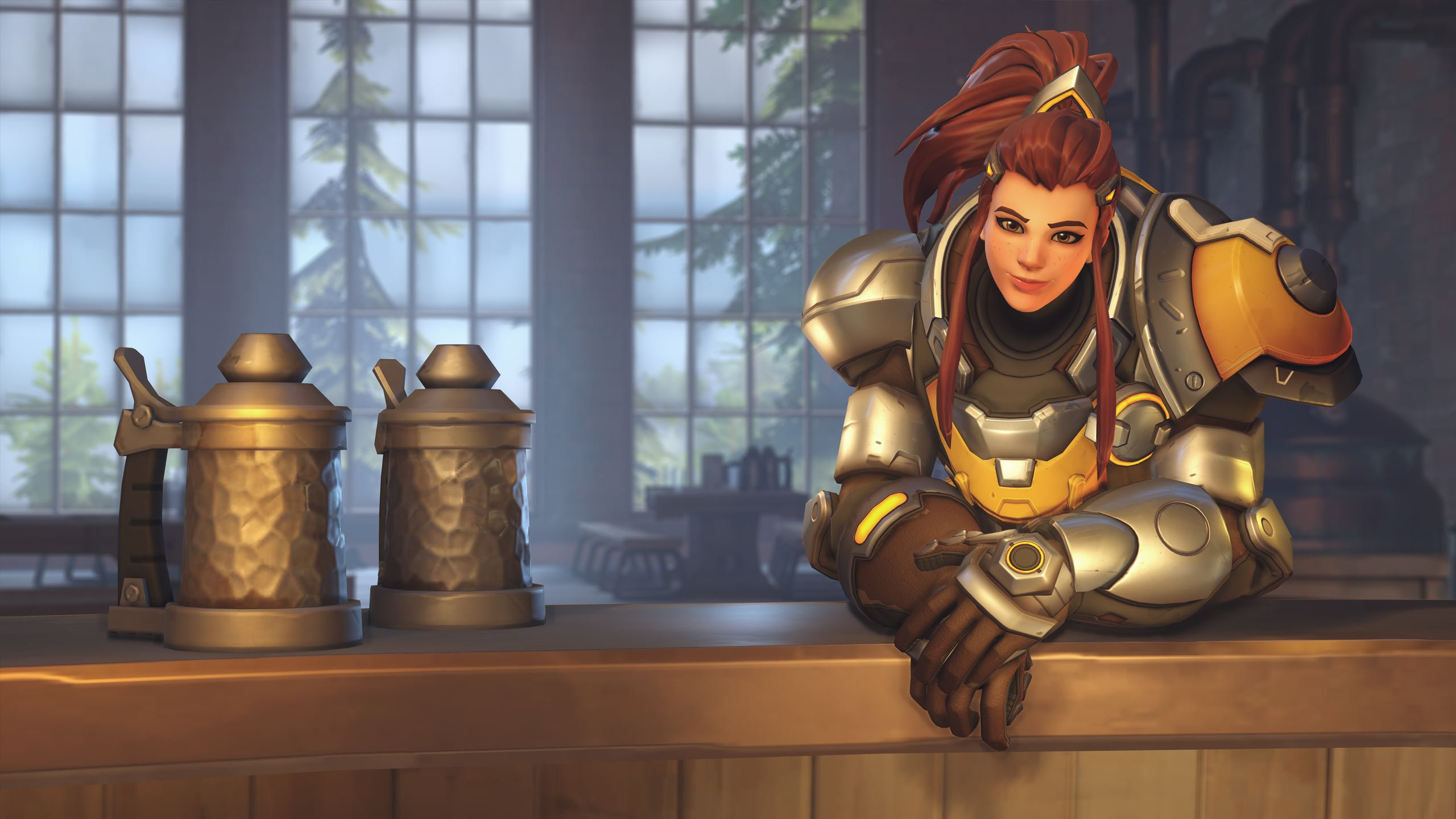 When Brigitte debuts in the Overwatch League next week, she won't have her nerfs in tow screenshot