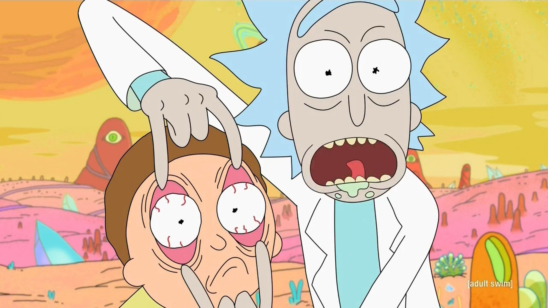 Rick and Morty scores 70 episode deal with Adult Swim screenshot