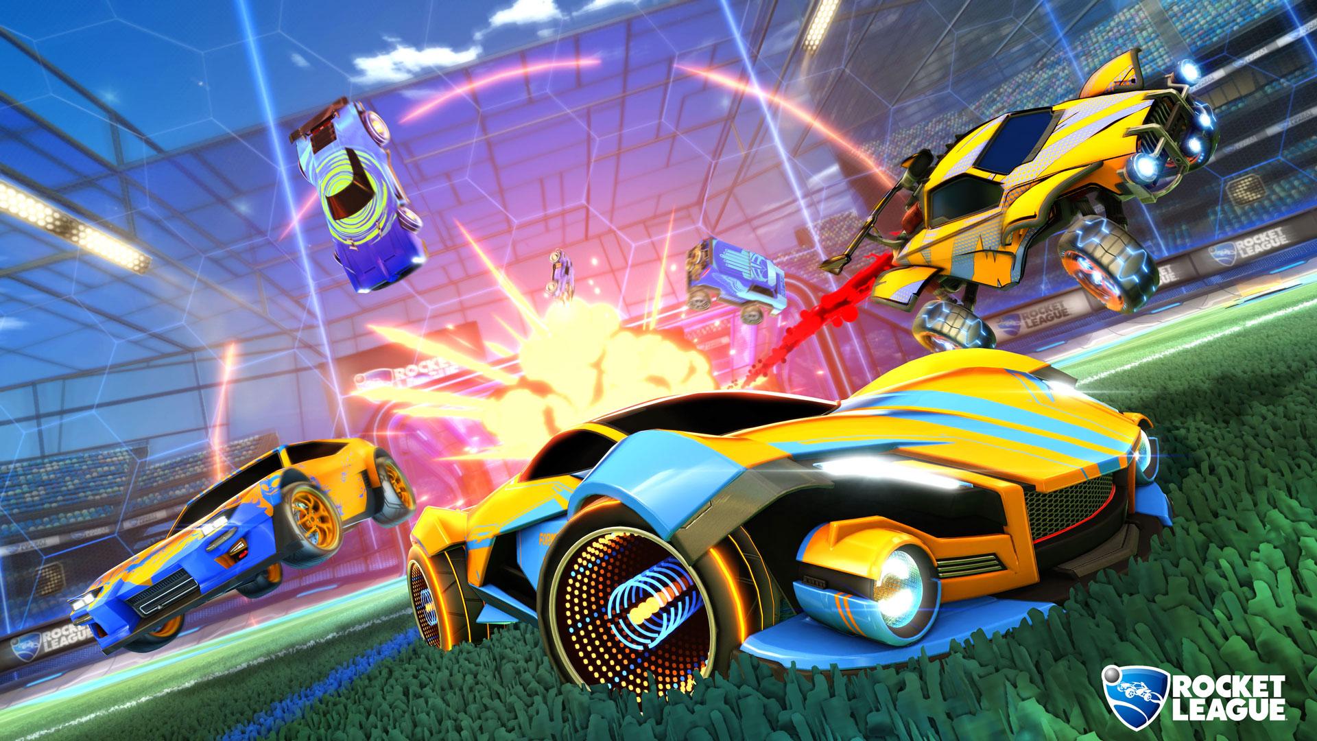 Rocket League's big roadmap includes the long-awaited cross-platform parties coming this summer screenshot