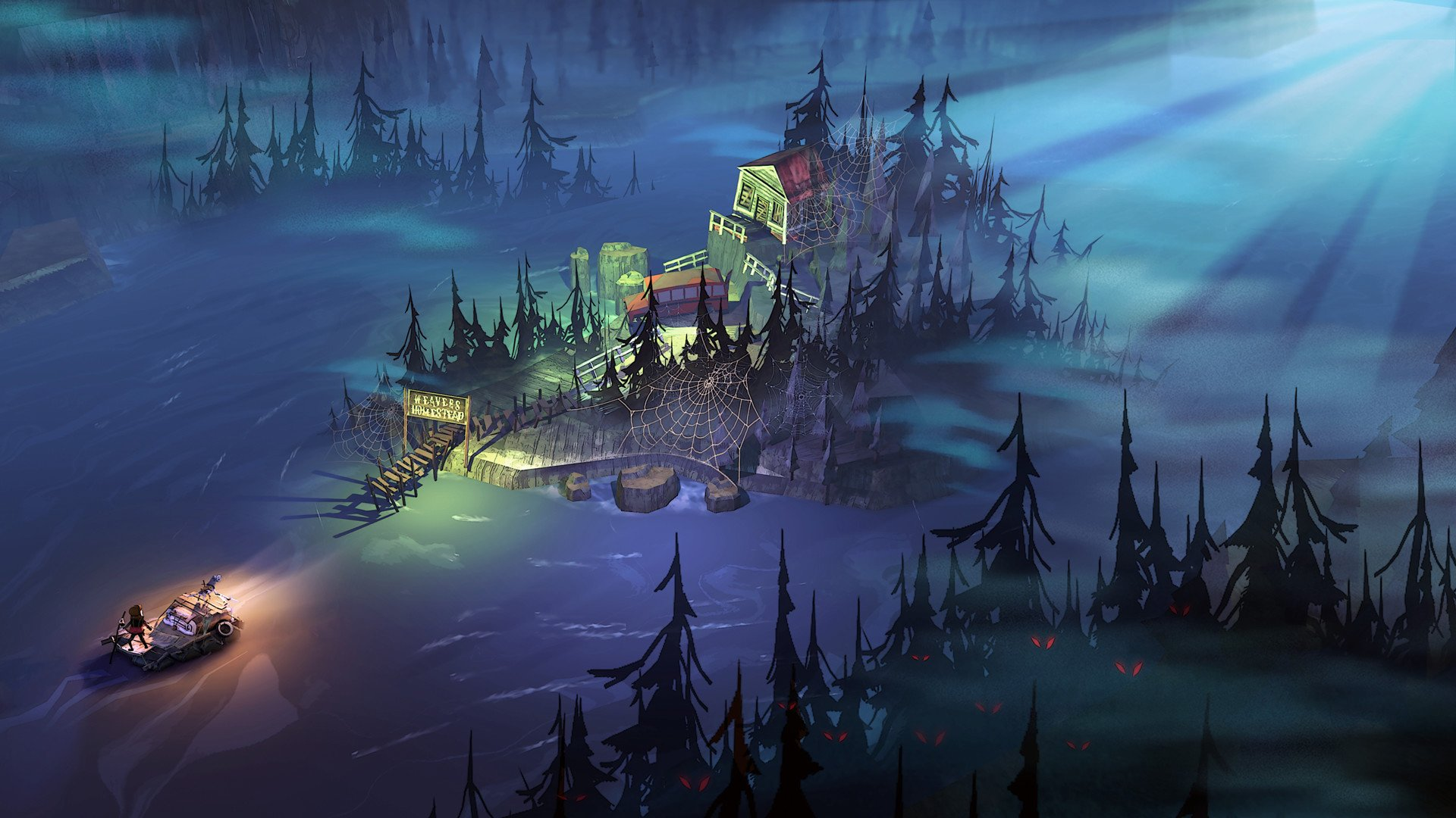 You should snag The Flame in the Flood while it's free on Humble screenshot
