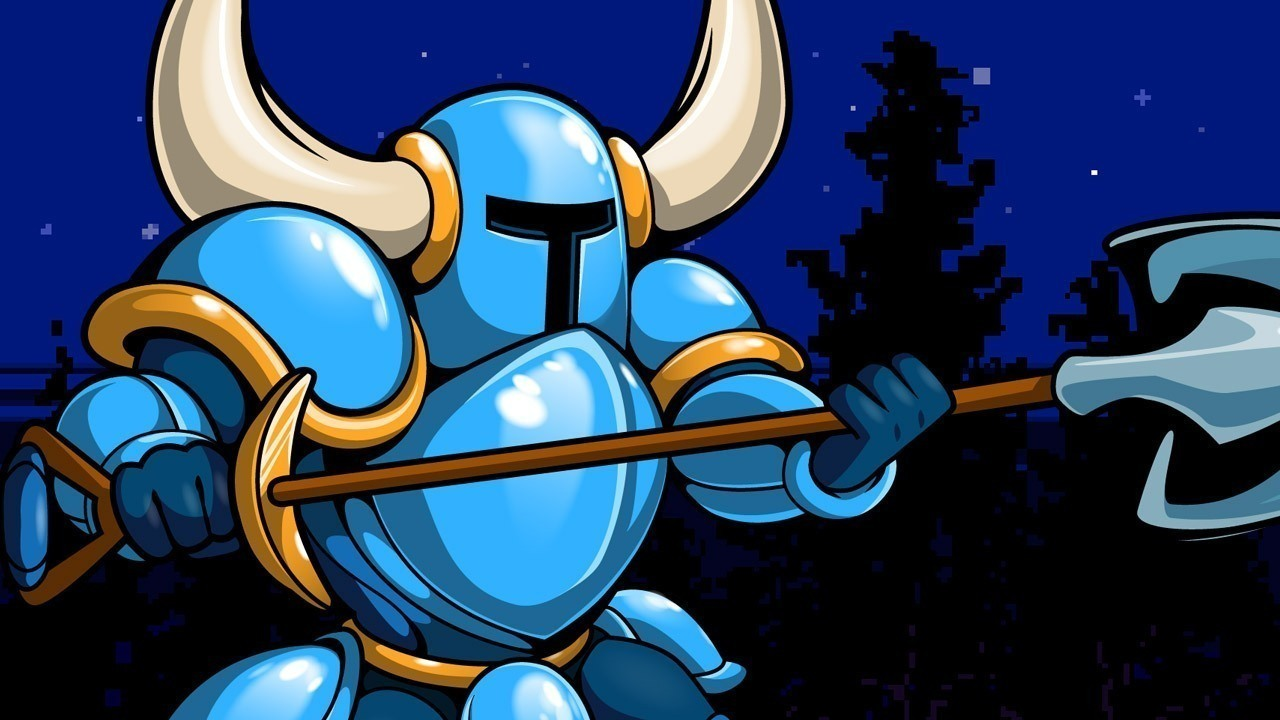 Shovel Knight to strike the earth in Blade Strangers screenshot