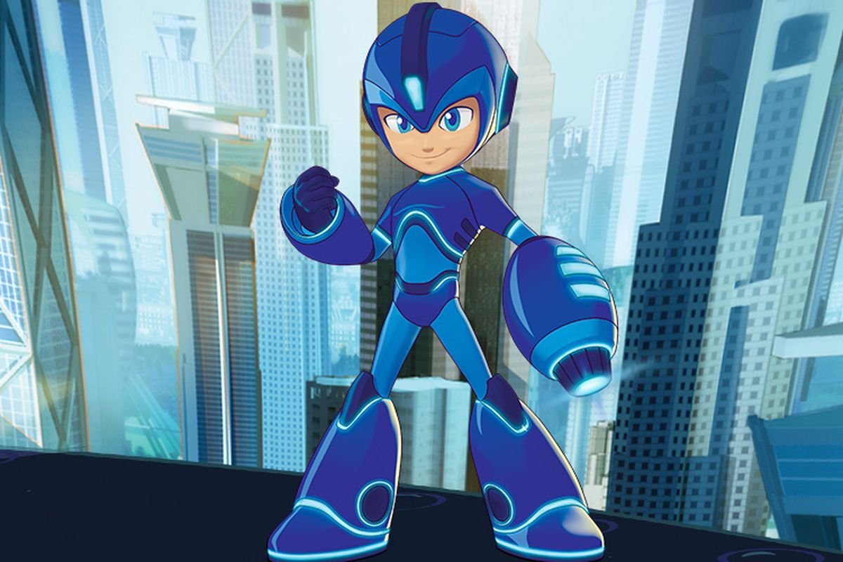 That new Mega Man cartoon has been renamed to Mega Man: Fully Charged screenshot