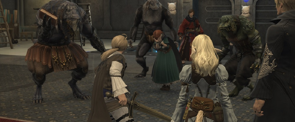 Final Fantasy XIV's 4.3 patch features turtle power and another return to Final Fantasy Tactics' Ivalice screenshot