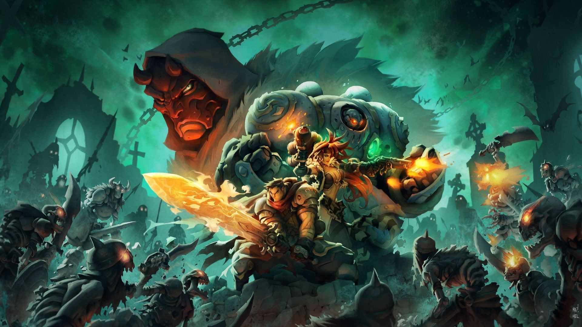 Battle Chasers: Nightwar documentary released screenshot