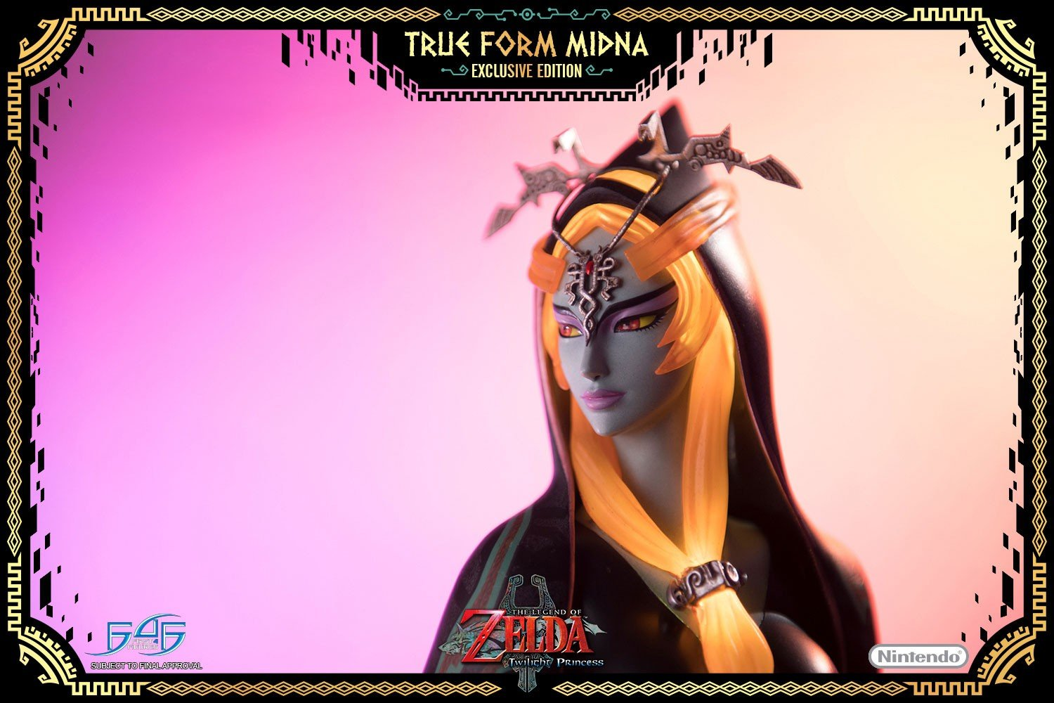 First 4 Figures is making an awesome (and expensive) True Midna statue screenshot