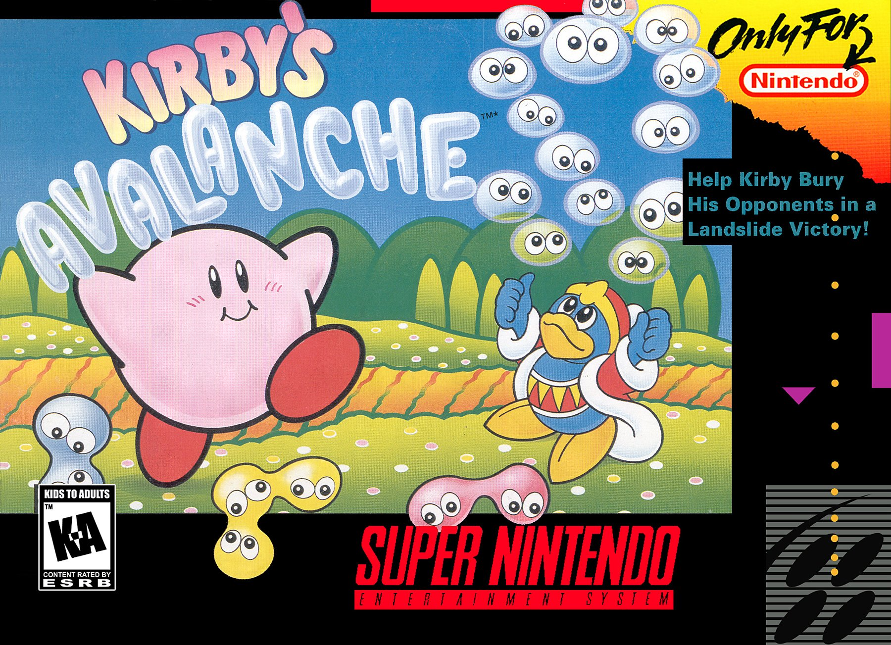 My mom is awesome except for that one time she tried to murder us all with Kirby's Avalanche screenshot