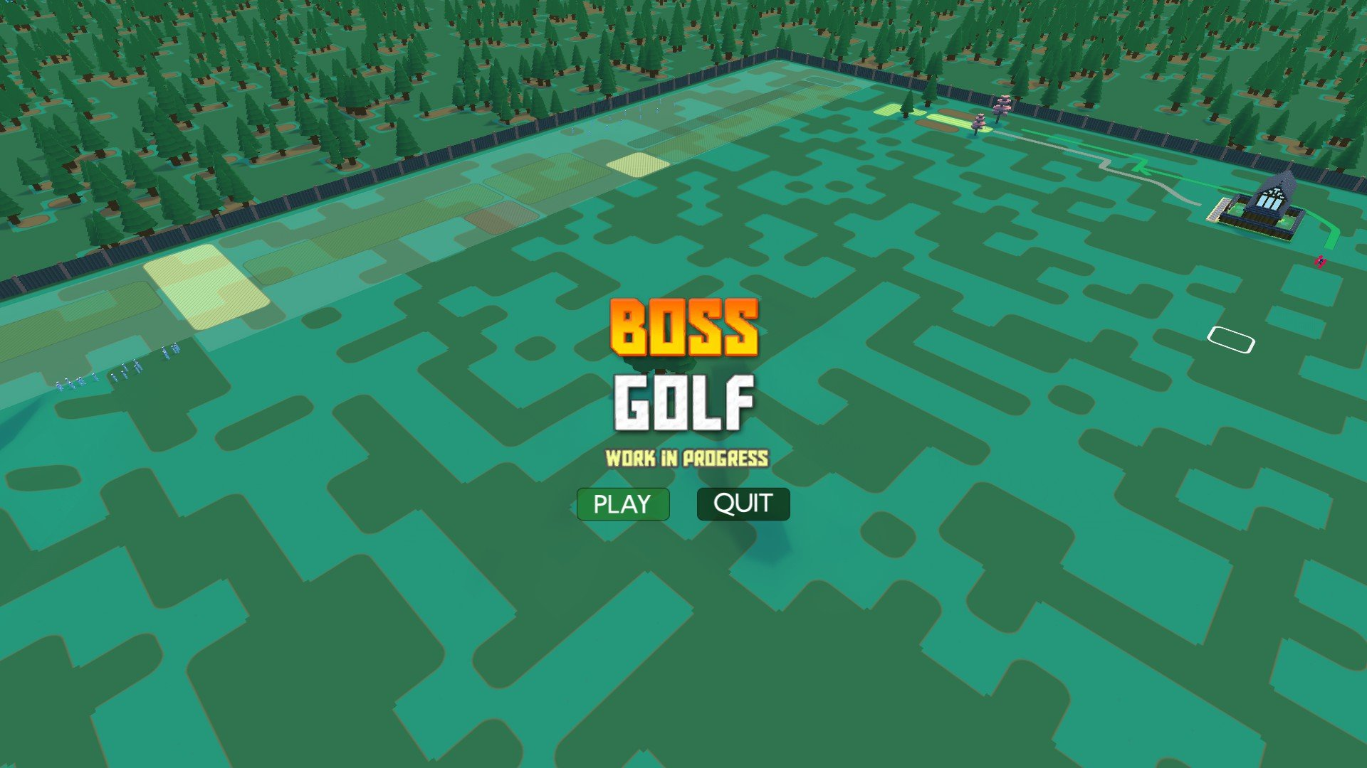 Boss Golf has all the charm of the '90s 'Tycoon' games screenshot