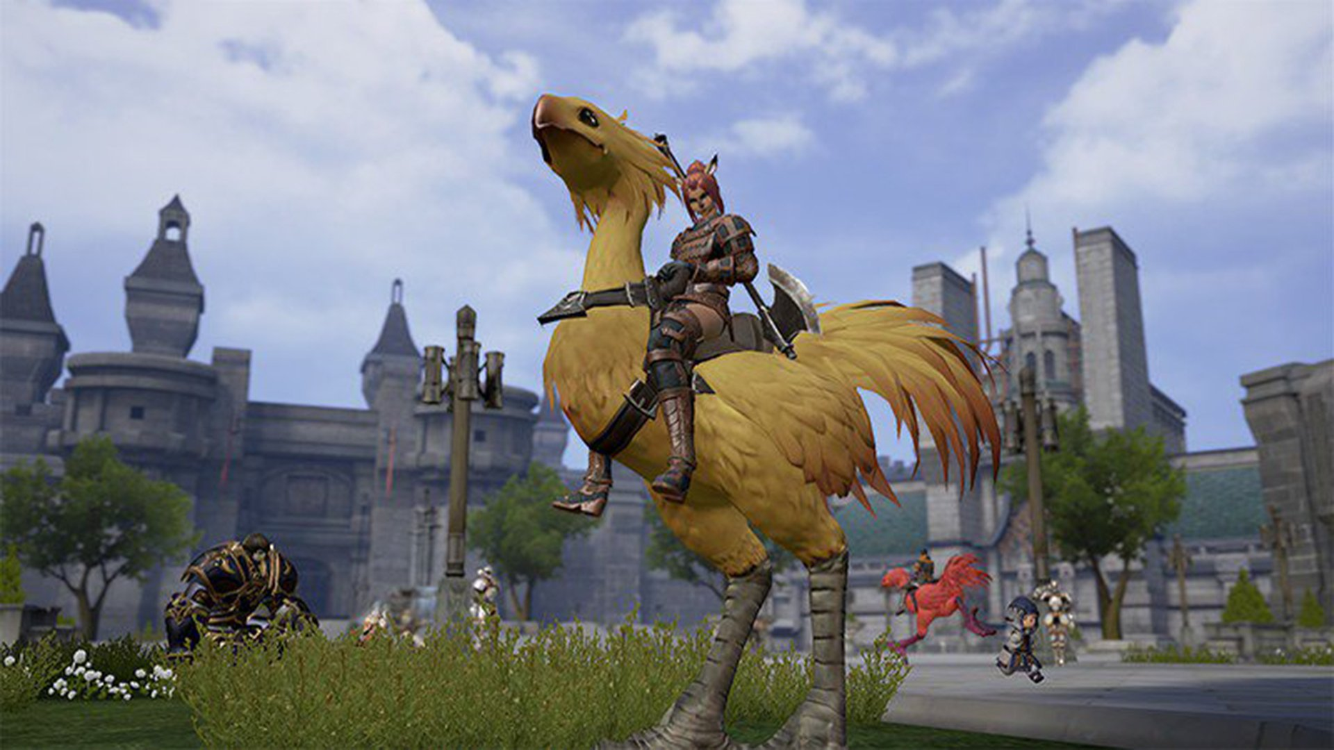 Final Fantasy XI mobile reboot gets new screenshots screenshot