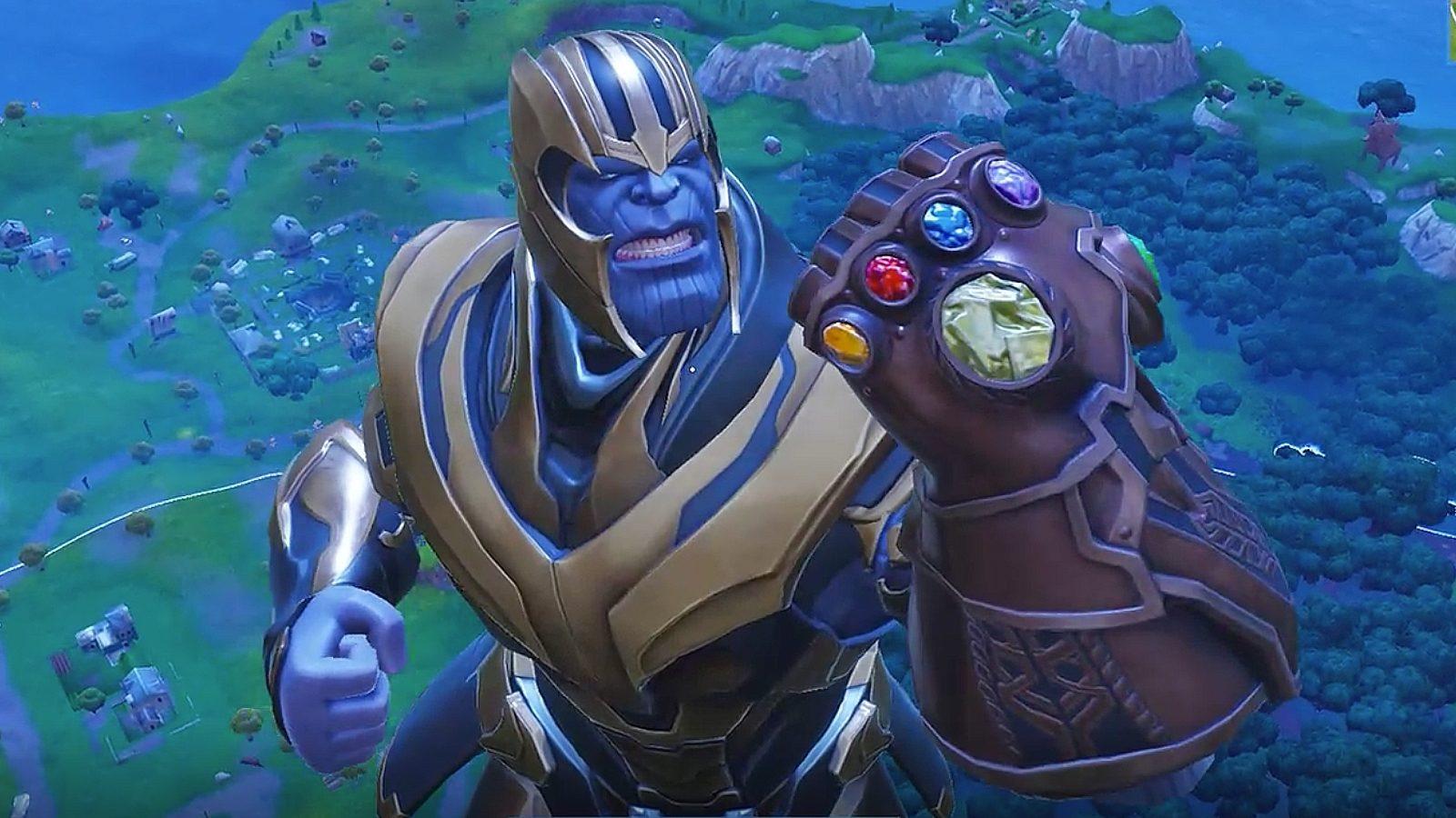 Fortnite's 'Infinity Gauntlet' event ends tomorrow screenshot