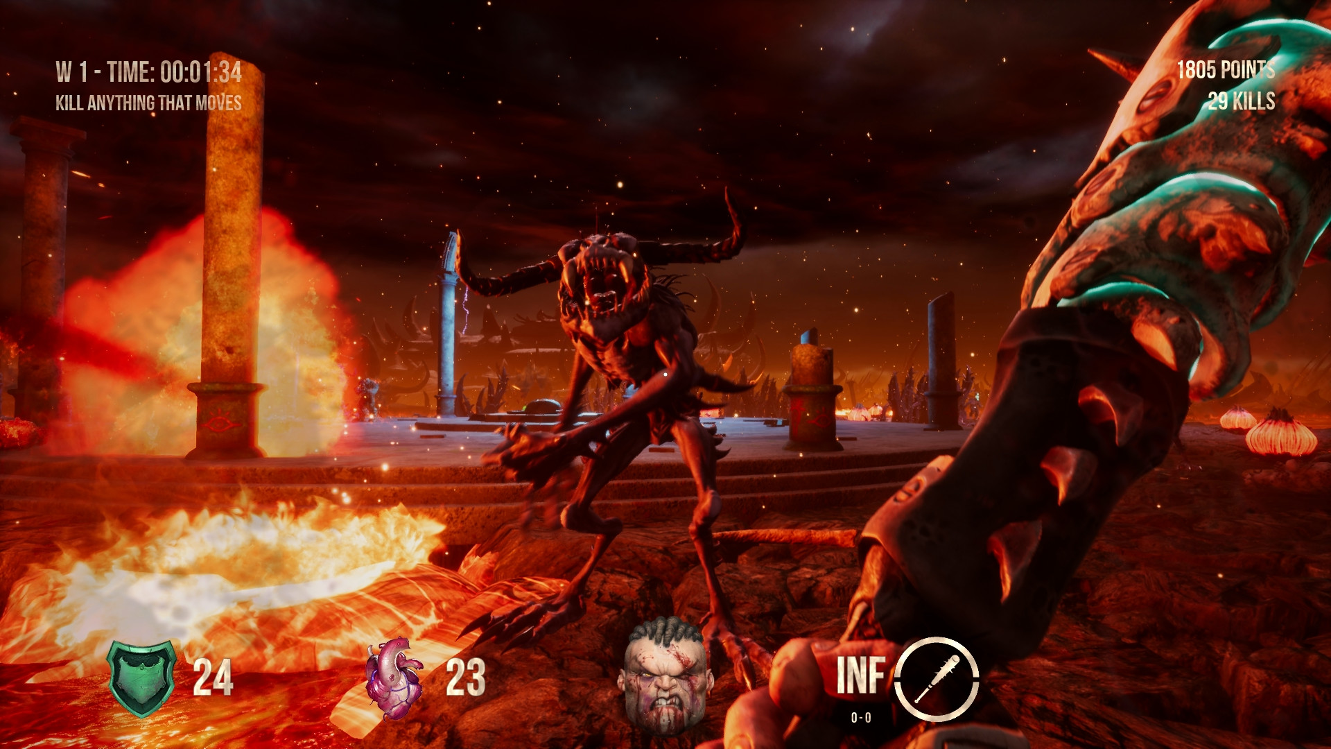 Old-school FPS Hellbound releases a free demo to promote Kickstarter campaign screenshot