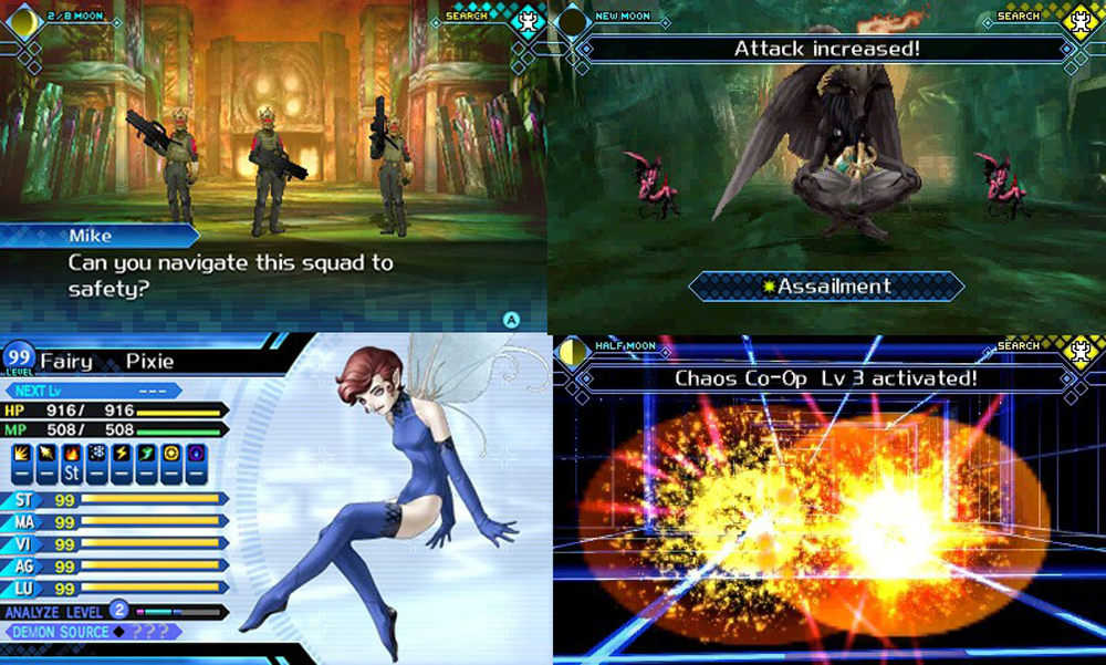 Shin Megami Tensei: Strange Journey Redux review