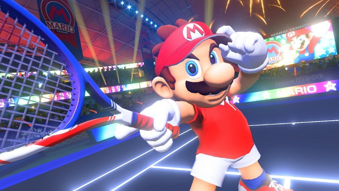 Mario Tennis Aces will be getting an online tournament demo screenshot