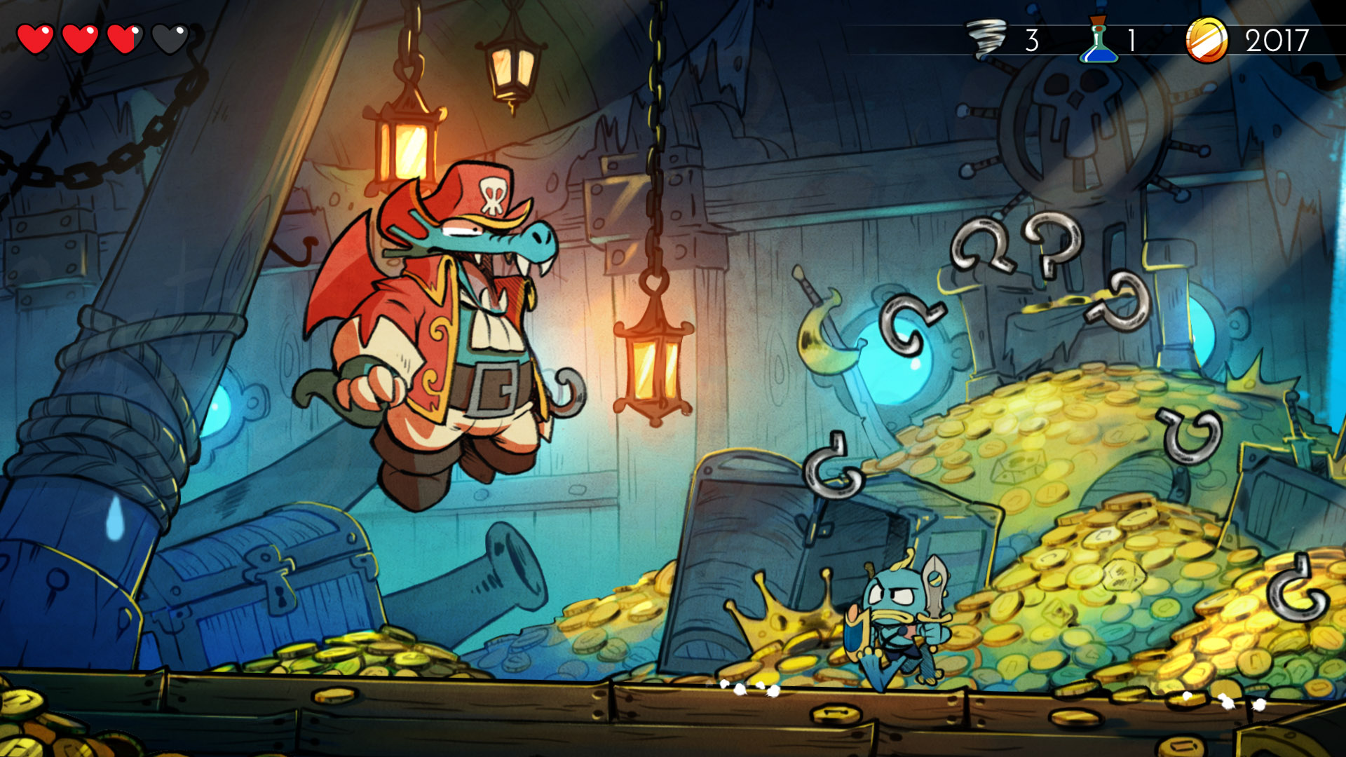Wonder Boy: The Dragon's Trap gets a 50% off discount on all platforms screenshot