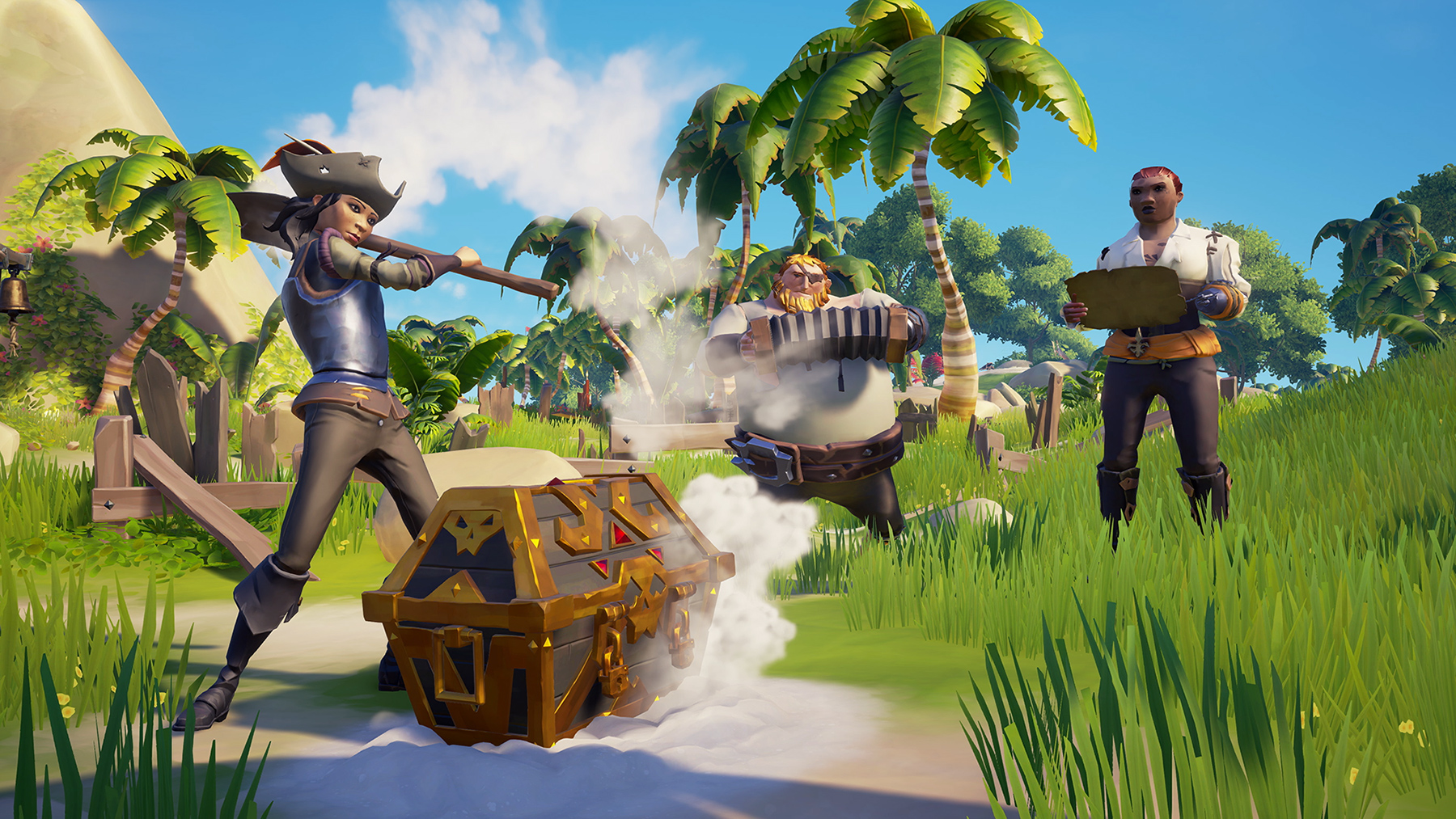 Sea of Thieves now lets you create friends-only crews screenshot