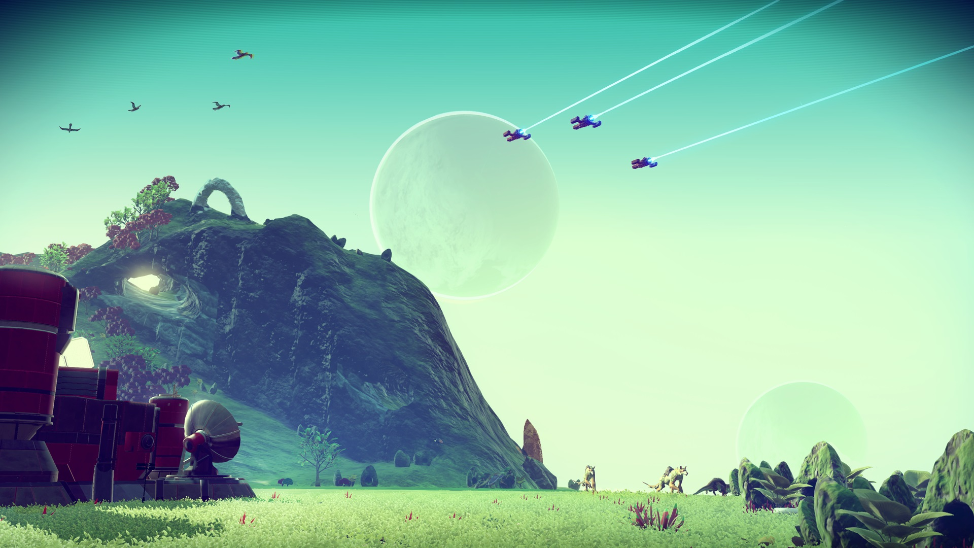 No Man's Sky's Xbox cover leaked, and it hints at synchronous co-op screenshot