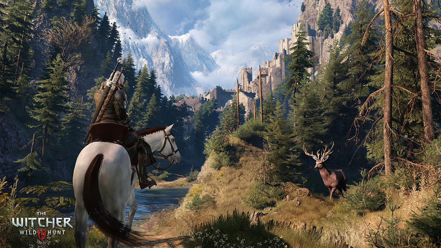 There's a fix for The Witcher 3's foliage issues on PS4 Pro screenshot