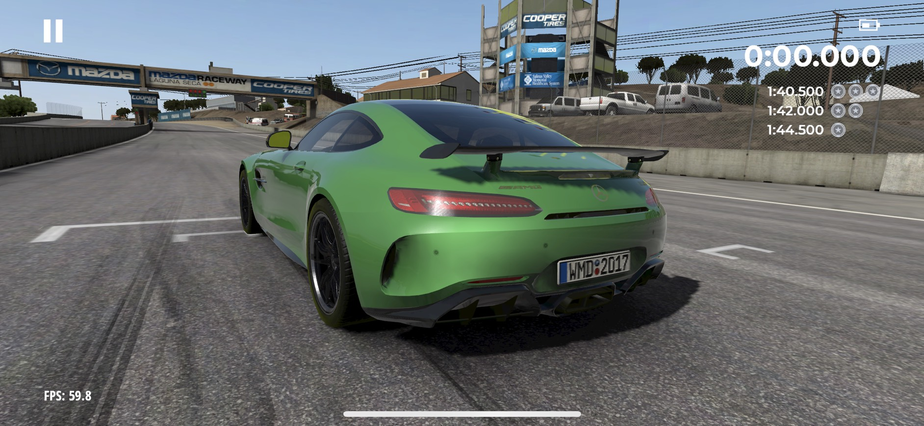 There's a new Project CARS but it's for mobile devices screenshot