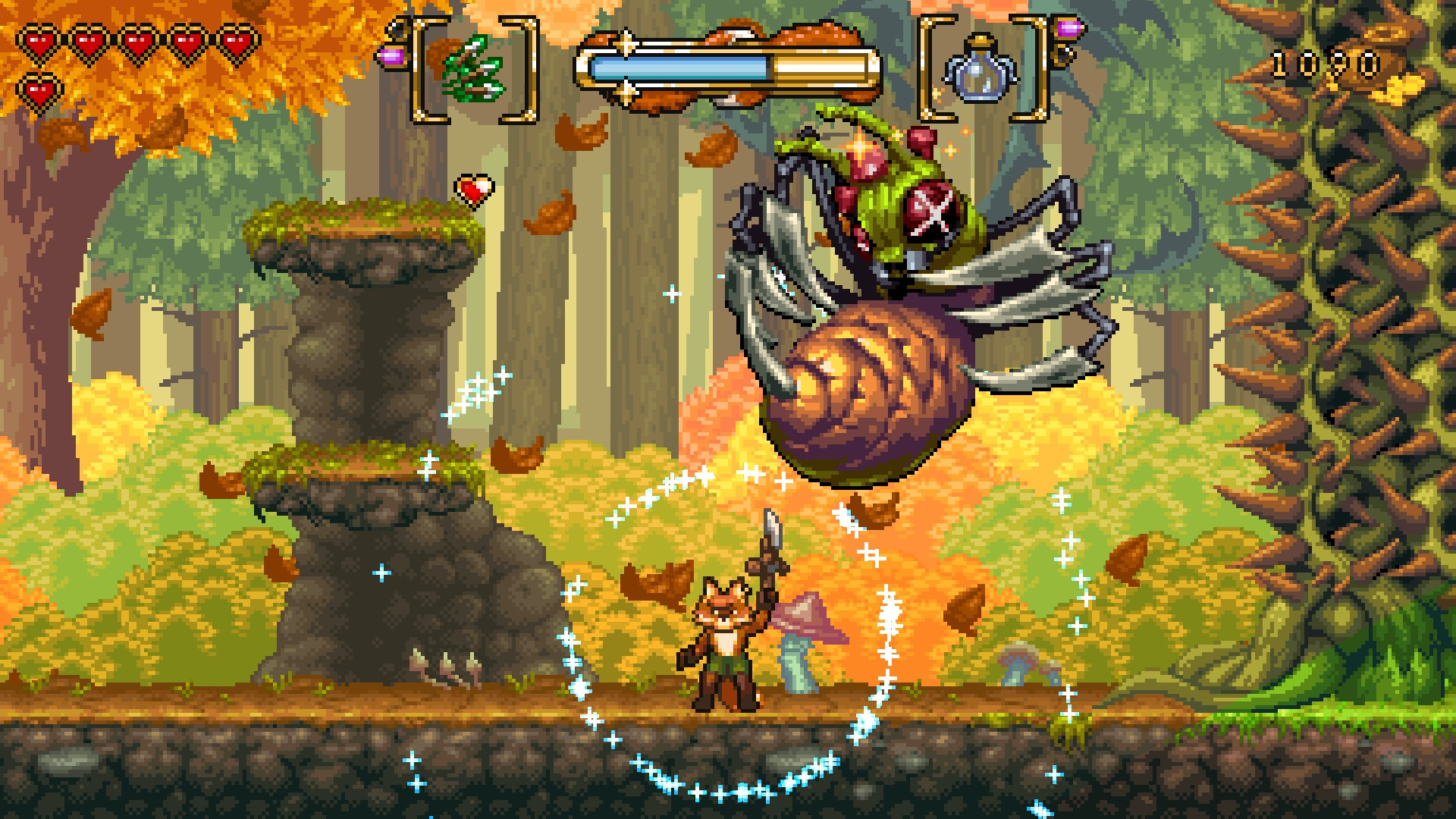 Review: Fox n Forests screenshot