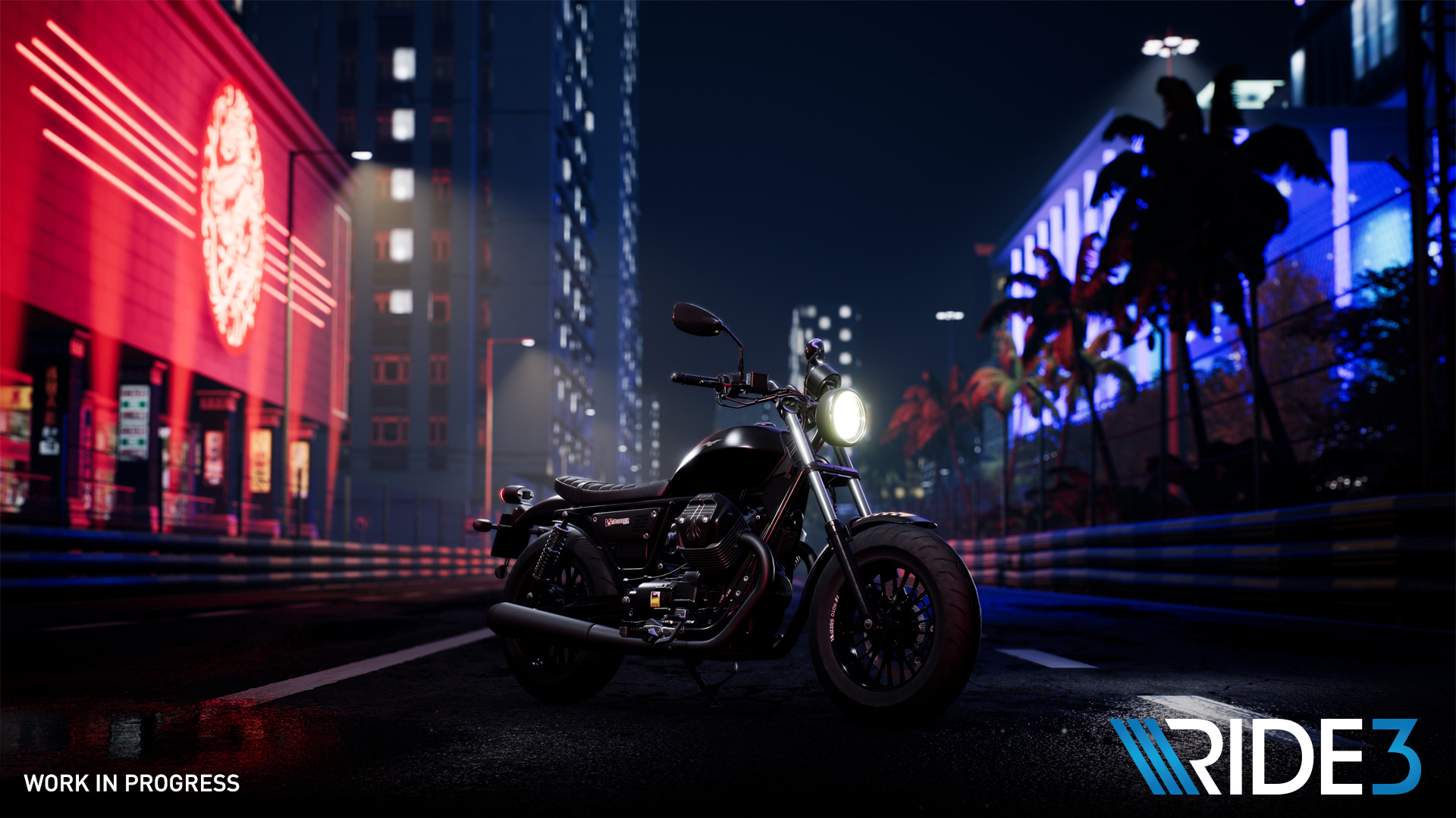 Ride 3 leaves rubber on the pavement on November 8 screenshot
