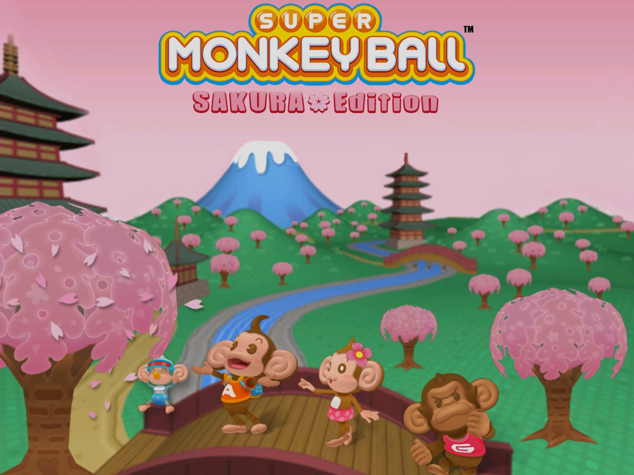 Super Monkey Ball: Sakura Edition joins Sega's free mobile game line-up screenshot