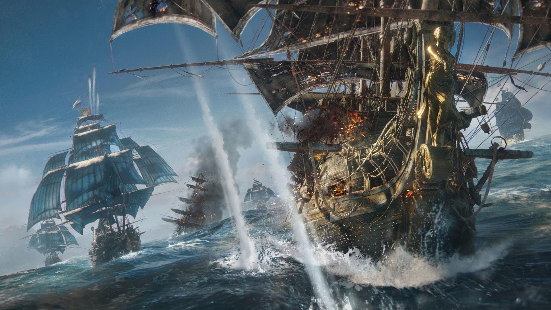 Ubisoft delays multiplayer naval combat game Skull and Bones screenshot