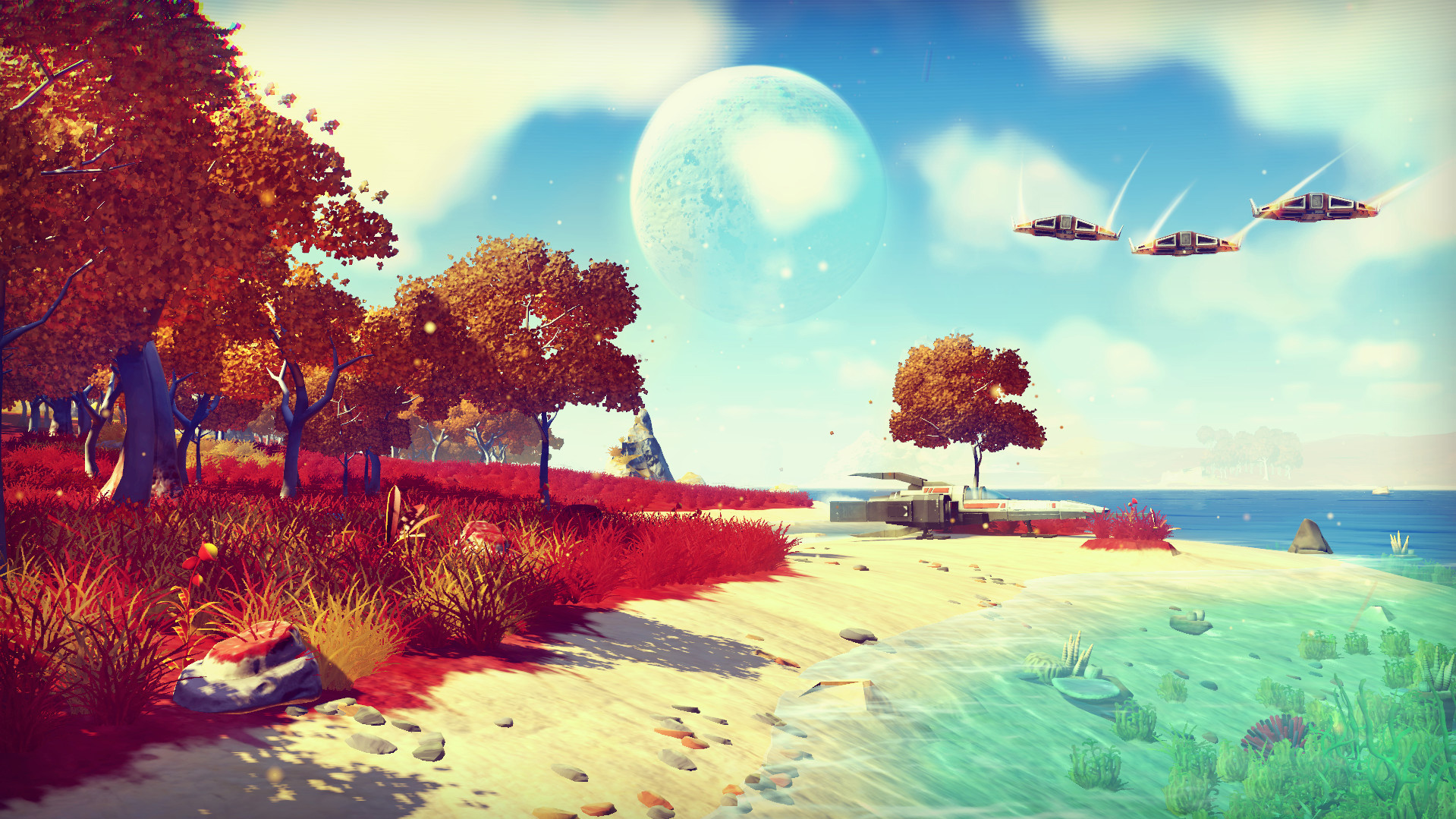 No Man's Sky is coming to Xbox One on July 24 with synchronous co-op screenshot