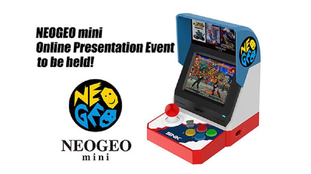 SNK to host Neo Geo Mini online presentation in June screenshot