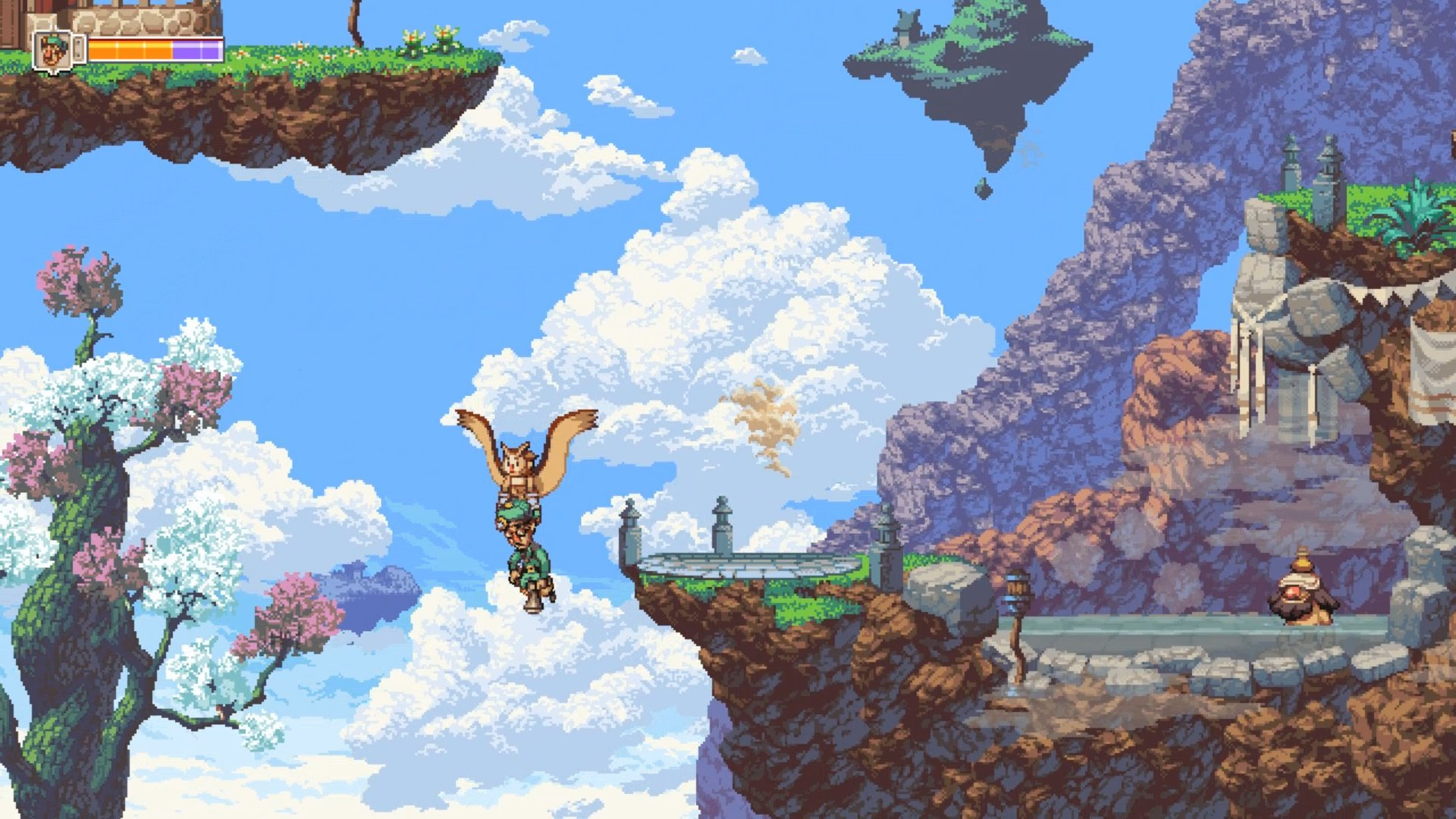 Owlboy turned a profit within just one day on Switch screenshot