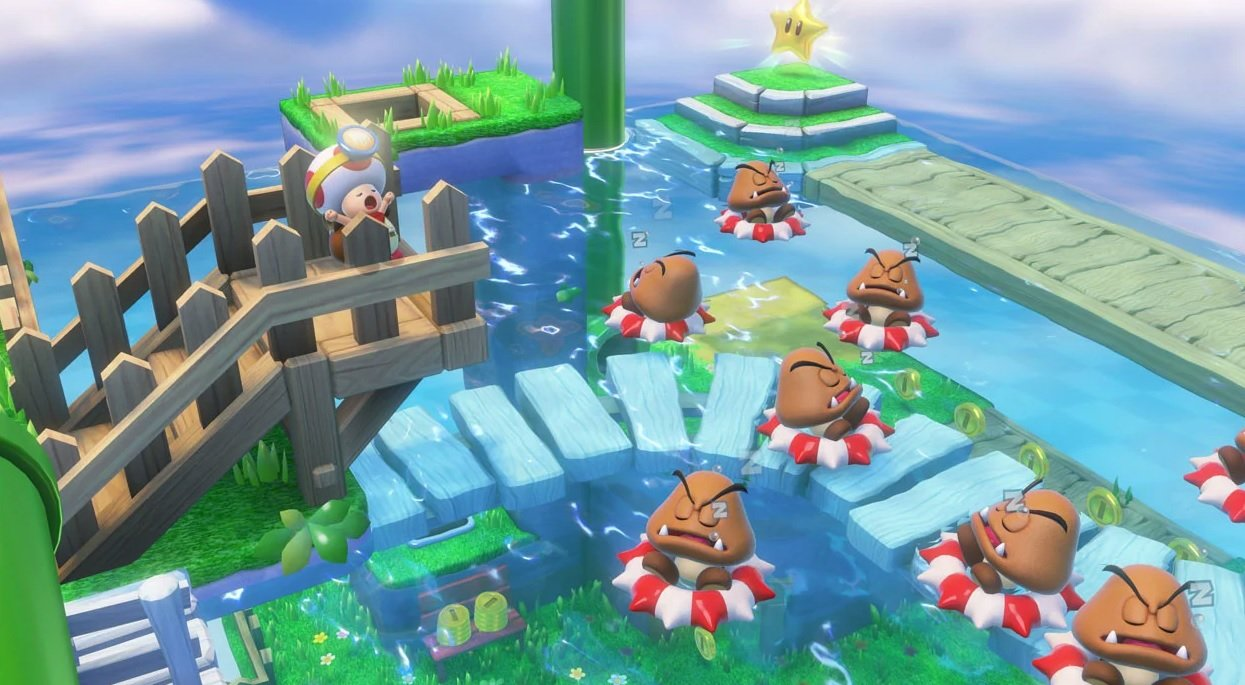 Captain Toad: Treasure Tracker still looks great on Switch because Toad is good and pure screenshot
